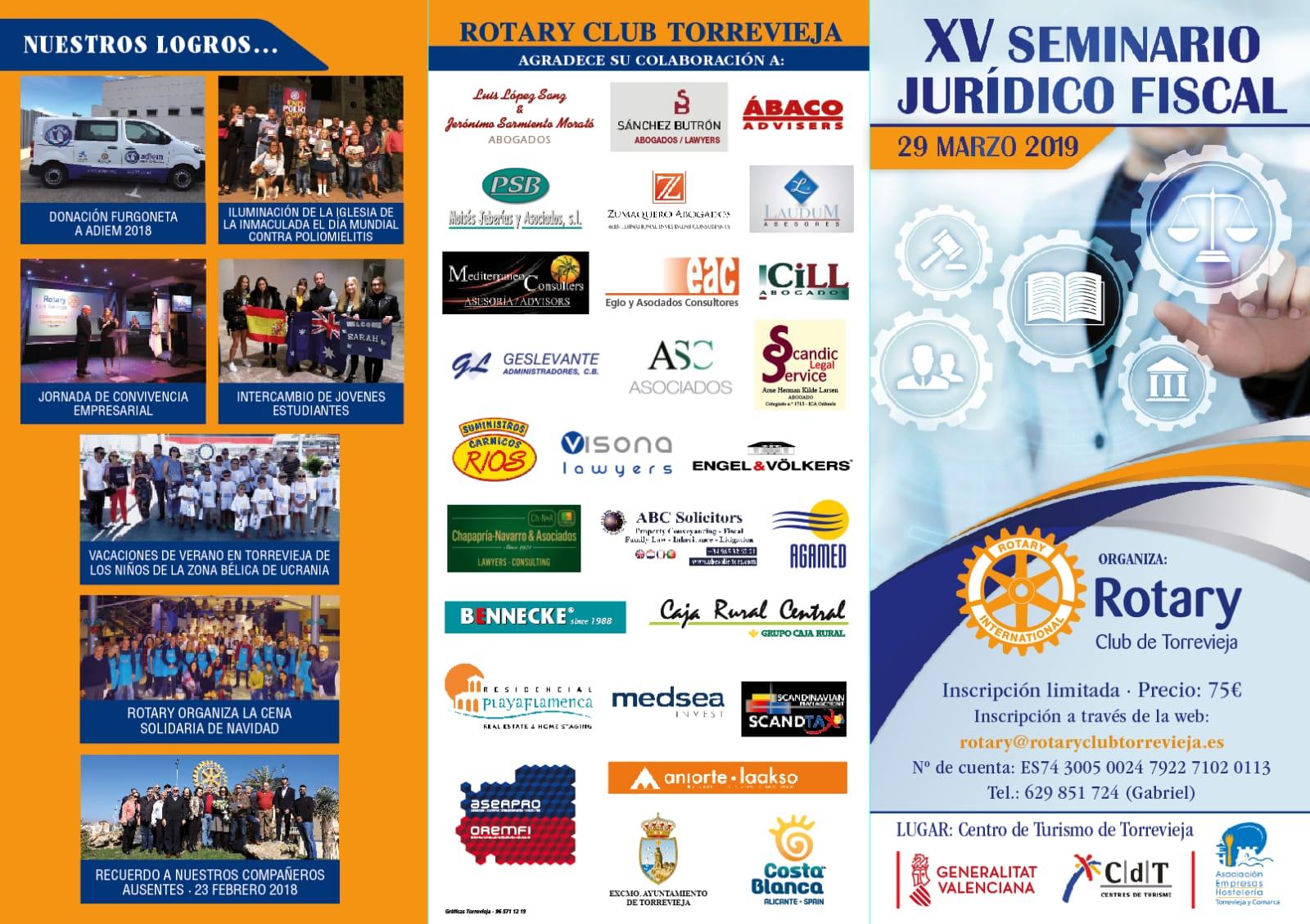Rotary Club: Seminario Juridico Fiscal